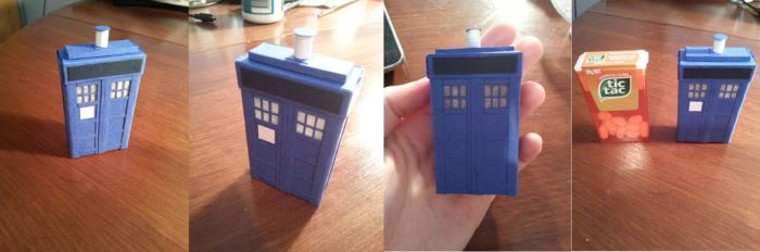 Tic Tac Tardis by Abominablyme