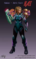 Entry #3 - Samus Suit Redesign by Lagunis