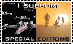 Special Edition Support Stamp by RetroUniverseArt