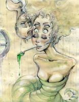 liquid green by LittleFreaky