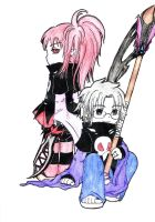 The main characters X3 by BlakkHeart