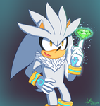 Silver The Hedgehog by Tweezalton