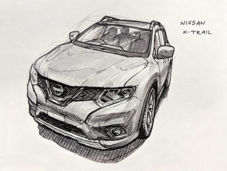 Nissan X-Trail by Hunternif