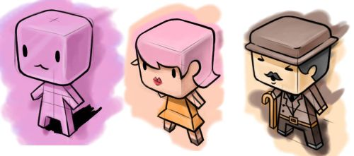 Cube Characters by alwaysNovice