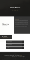 Simple personal website by jozef89