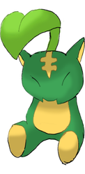Fakemon -- LEOSEED by omegagroudon