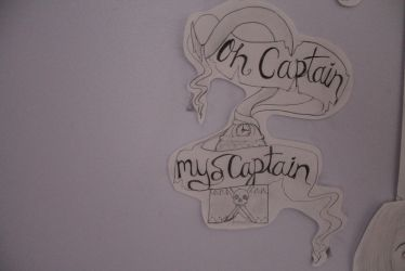 Wall of art: Oh Captain My Captain by GenerationMaybe
