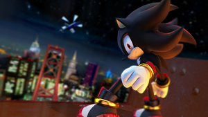 Shadow the Hedgehog Radical Highway by RealSonicSpeed
