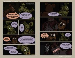 FNAF4 Comic - House Party - Page 14 - 6-24-16 by Mattartist25