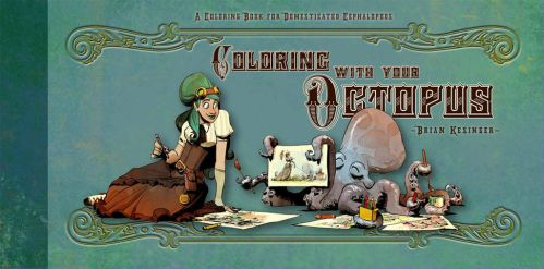 coloring with your octopus by BrianKesinger