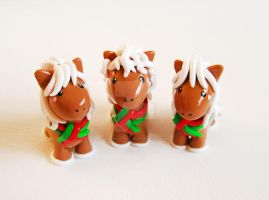 Gingerbread Ponies by mAd-ArIsToCrAt