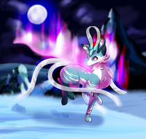 Suicune redesign!! by frostlie