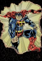 Superman Is The Man Colored by azzh316