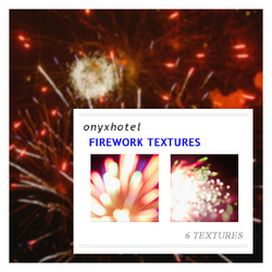Firework textures by 19-Misfits