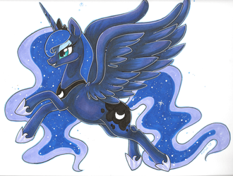 Princess Luna by karzii