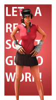 Let a real scout get to work! by wnses286
