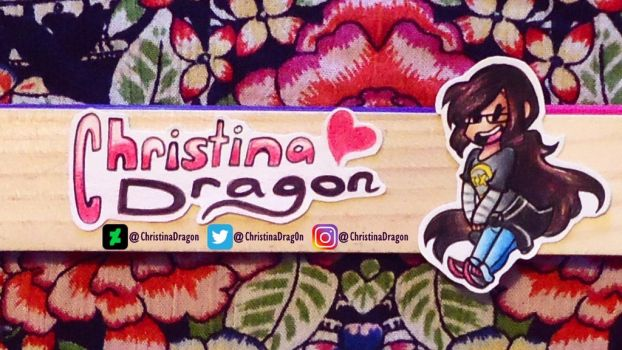 New Youtube Banner by ChristinaDragon