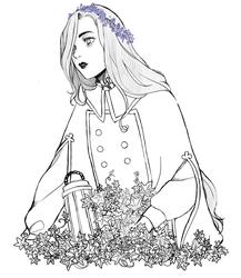 Forget-Me-Not by garnetchandeliers