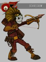 T.W.O.: Scarecrow by ginoroberto