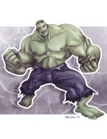 The Hulk by TedKimArt