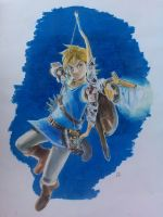 Link - Breath of the Wild by Kylle-1007