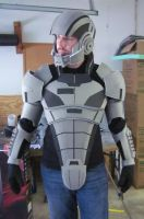 N7 Armor Test Fit II by hsholderiii