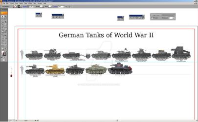 W.I.P. German Tanks of WWII Poster