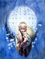 Elf Madonna by g-barr