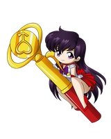 Sailor Mars Wand by SMeadows