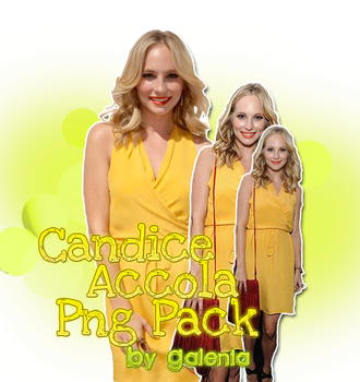 Candice Accola Png Pack #1 by Galenia