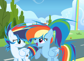 mlp aw come on mom by PastelLight3