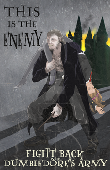 This is the Enemy (Greyback) propaganda poaster by BrotherToastyCakes