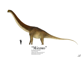 Maximo the Patagotitan by PrehistoryByLiam
