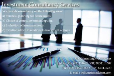 Investment consultancy services by nritaxadvisor2015