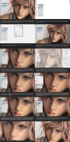 Skin Texture Tutorial by Aameeyur