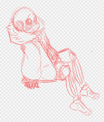 UF! Sans Sketch by Paigeetheanimelover