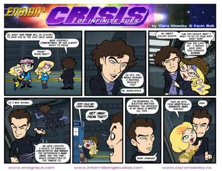 Ensign Cubed Crisis of Infinite Sues 14 by kevinbolk