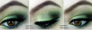 New year's eve make-up idea 4 by KatelynnRose