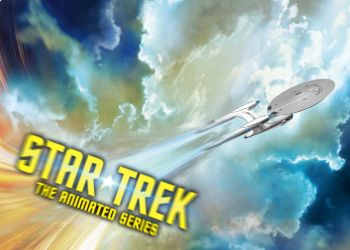 Star Trek The Animated Series teaser poster by calamitySi