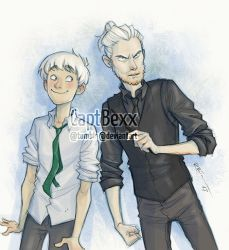 Scorpius and Draco by CaptBexx