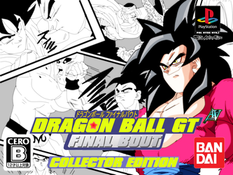 Dragon Ball:Final Bout My Box Cover18thanniversary by a-vstudiofan