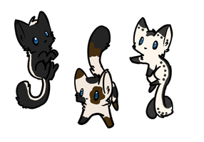 3 Point Adoptables! by LeaFaciliter