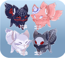 Halloween Fox Adopts [ CLOSED ] by OstrichAdopts