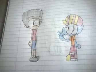 Me and danshooter by danshooter246