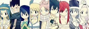 Fairy Tail Collage by Tkeio