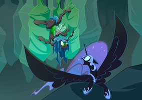Style Challenge #2  A Mysterious Filly by Underpable