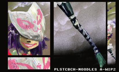 PlstcBch Noodle Dyptic A WIP2 by EpoCALYPsE