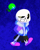 Sam and Sans by TalonsofIceandFire
