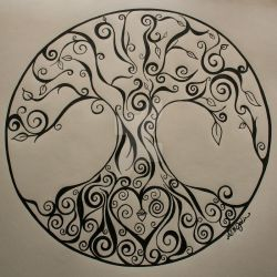 Sandy's Tree of Life by Saint-Angel