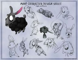 Moop Character Sheet by ZaraLT